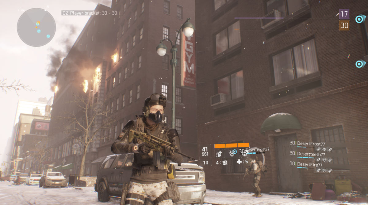 Tom Clancy's The Division Ubisoft assault rifle